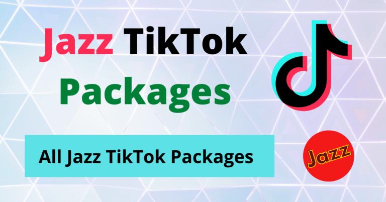 Jazz TikTok Packages
