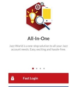 click on the fast login