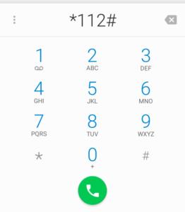 dial advance code