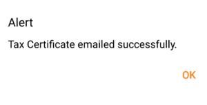 successfully send