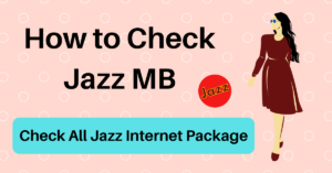 How to Check Jazz MB
