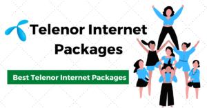 Telenor Internet Packages