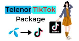 Telenor TikTok Package