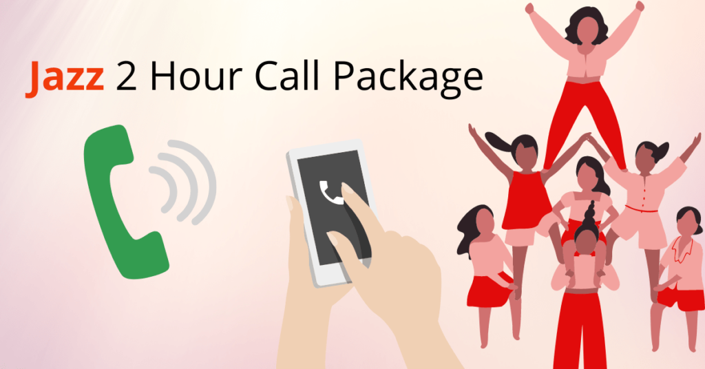 Jazz 2 Hour Call Package