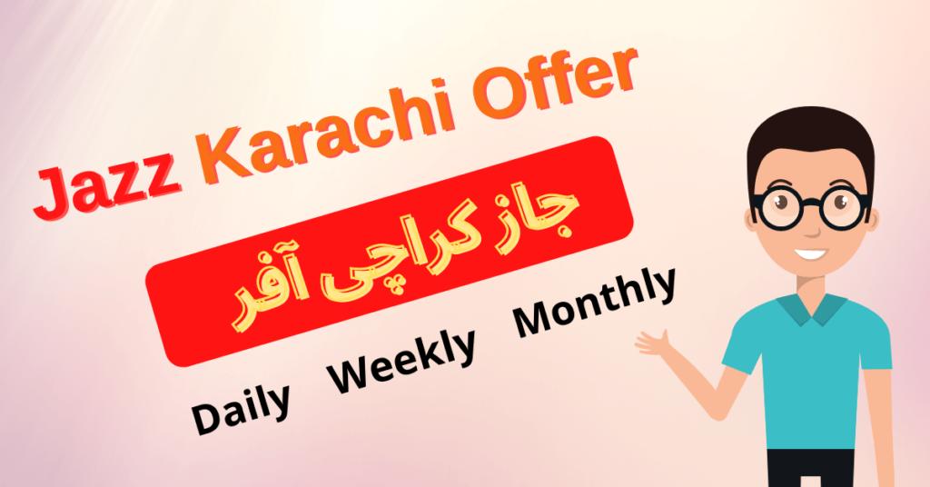 Jazz Karachi Offer
