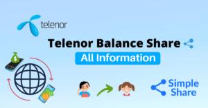 Telenor Balance Share