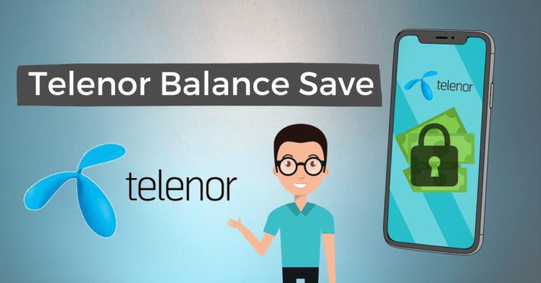 Telenor Balance Save code