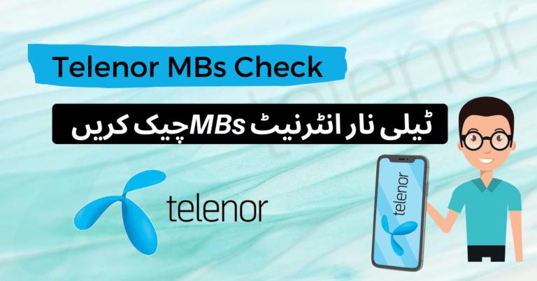 Telenor MB Check Code